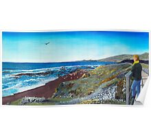 Moonstone Beach Poster