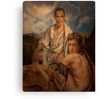 """Milaripa "". 24x 30 acrylic  Canvas Print"