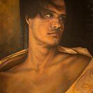 Ansu 20x26 acrylic on canvas by Thomas Acevedo