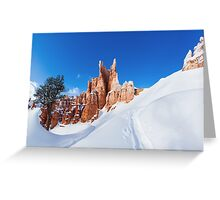 Bryce Tree Surfing Greeting Card
