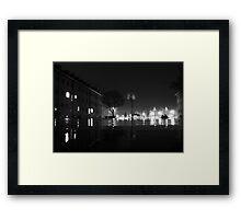 Night Walks Framed Print