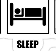 Eat Sleep Sleep Some More Sticker