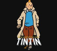Tintin Adventures Zipped Hoodie