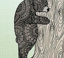 Bear Hug - Tree Hugger by mindfullymade