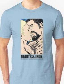 Hearts & Iron Kiss T shirt Unisex T-Shirt