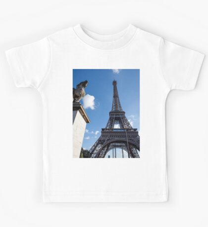 Eiffel Towers  Kids Tee