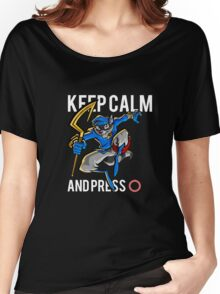Sly Cooper - keep calm Women's Relaxed Fit T-Shirt