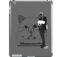 Karl and Choupette - Ipad cases iPad Case/Skin
