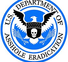 United States Department of Asshole Eradication by Zesko