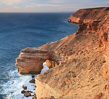 Natural Bridge, Kalbarri, Western Australia by Nigel Donald