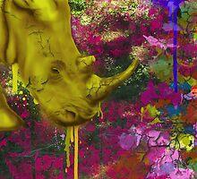Urban Rhinoceros  by Keelin  Small