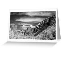 Yosemite Sky Rake Greeting Card
