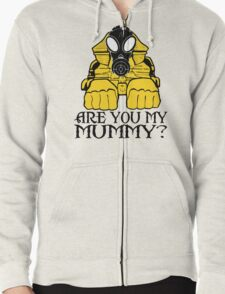 Dr. Who sphinx are you my mummy? Zipped Hoodie