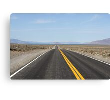 Road to Pyramid Lake Nevada,USA Canvas Print