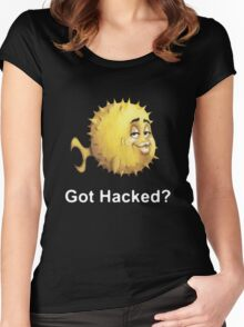 Got Hacked? Women's Fitted Scoop T-Shirt