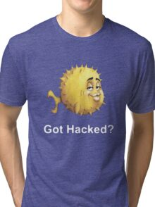 Got Hacked? Tri-blend T-Shirt