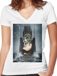 H.I.M Women's Fitted V-Neck T-Shirt