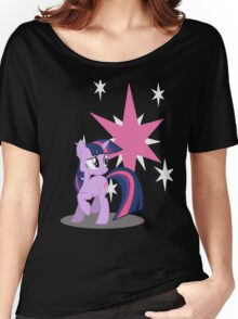 Twilight Sparkle with cutie mark Women's Relaxed Fit T-Shirt
