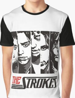The Strokes Band Music T-Shirt Graphic T-Shirt