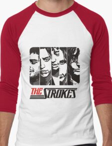 The Strokes Band Music T-Shirt Men's Baseball ¾ T-Shirt