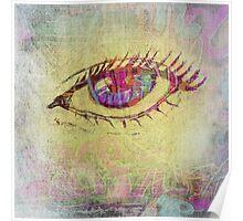 Graffiti Doodle Eye Poster
