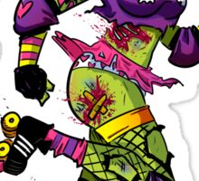 Zombie Derby Doll Sticker
