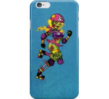 Zombie Derby Doll iPhone Case/Skin