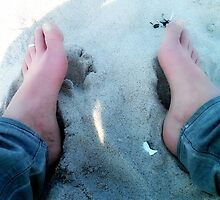 Beach feet by OLIVER W Now!