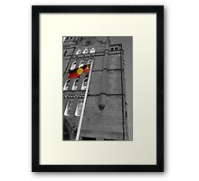 Black & White versus Colour Framed Print