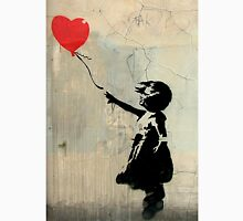 Banksy Red Heart Balloon T-Shirt