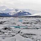 vatnajökull national park, iceland by gary roberts