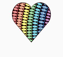 jesus fish rainbow  Unisex T-Shirt