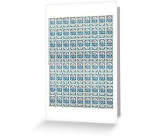 Blue Chip Stamps Greeting Card