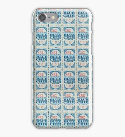 Blue Chip Stamps iPhone Case/Skin