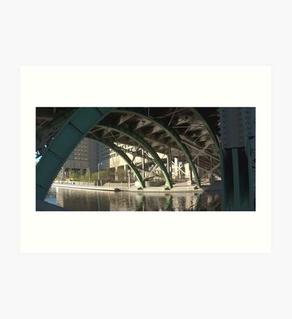 Bridge over the Colonel By Canal Art Print