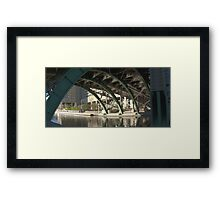 Bridge over the Colonel By Canal Framed Print