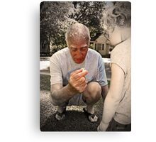 To Thee I'd Give Canvas Print