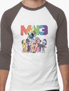 MW3 Ponies Men's Baseball ¾ T-Shirt