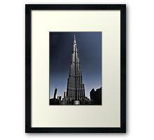 Burj Khalifa 3 Framed Print