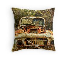 Overtaken........................ by nature Throw Pillow