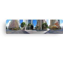 360° @ Adelaide & Creek Canvas Print