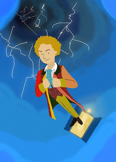 6th Doctor in the Time Vortex by Kileigh Gallagher