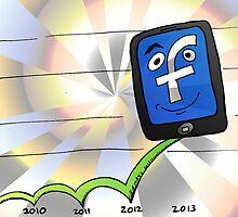 Facebook en hausse avec des revenus publicitaires mobiles by Binary-Options