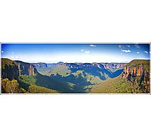 Blue Mountains NSW Panoramic Photographic Print