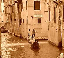 Gondola in Venice by Rob Kelly