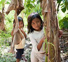 Hide and seek in the jungle by Brendon Doran
