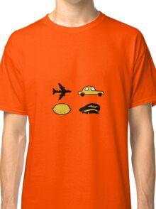 Lemon plane hat car Classic T-Shirt