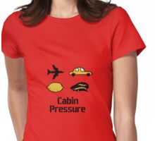 Cabin Pressure foursome Womens Fitted T-Shirt