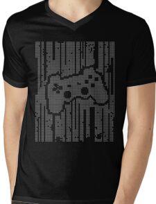 Matrix Pad Mens V-Neck T-Shirt