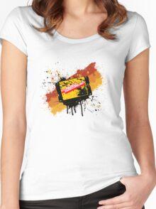 Graffiti Cartridge Women's Fitted Scoop T-Shirt